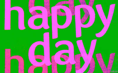 Happy Day Six Poster by Sir Josef Social Critic - ART
