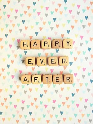 Happy Ever After Poster by Mable Tan