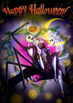 Happy Halloween II Poster by Alessandro Della Pietra
