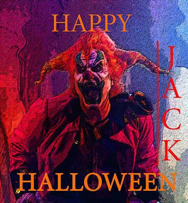 Happy Halloween Jack Poster by David Lee Thompson