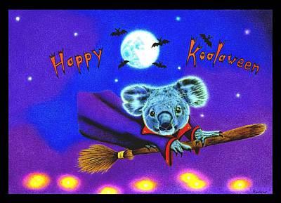 Happy Koalaween Poster by Remrov