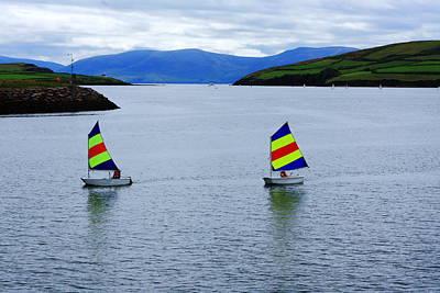 Harbour Sailing Poster by Aidan Moran
