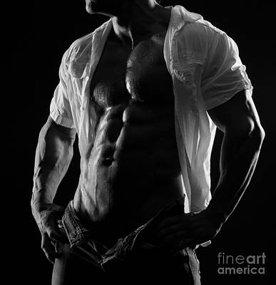 Hard Body Poster by Naman Imagery