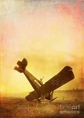 Hard Landing Poster by Edward Fielding