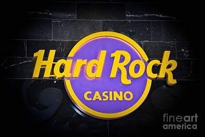 Hard Rock Poster by Gary Keesler