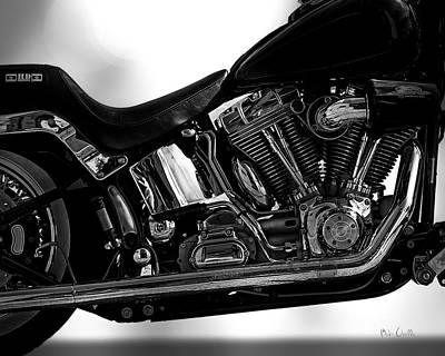 Harley Davidson  Military  Poster by Bob Orsillo
