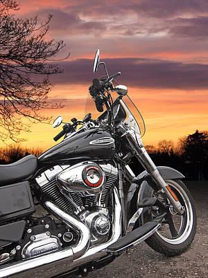 Harley Screamin Eagle Poster by Gill Billington