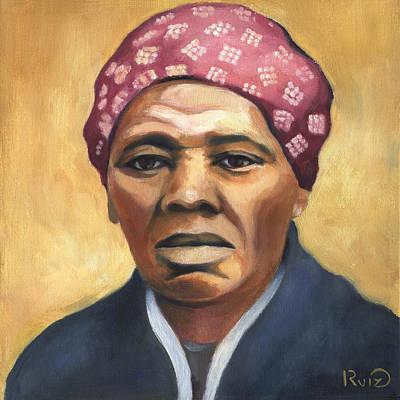 Harriet Tubman Poster by Linda Ruiz-Lozito