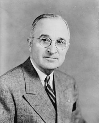 Harry S Truman Poster by Georgia Fowler