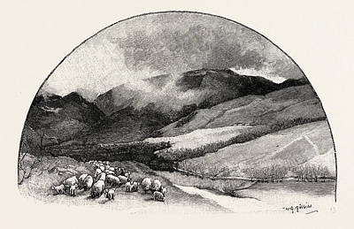 Hart Fell, Uk Poster by English School