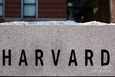 Harvard Poster by Jannis Werner