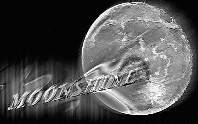 Harvest Moon - Moonshine 2 Poster by Steve Ohlsen