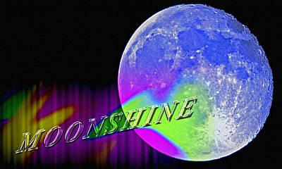 Harvest Moon - Moonshine Poster by Steve Ohlsen