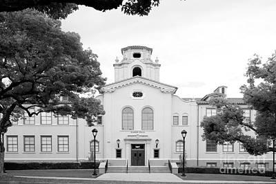 Pomona College Mason Hall Poster by University Icons