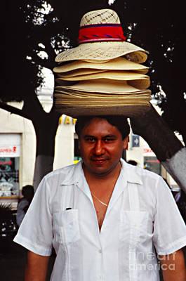 Hat Seller Poster by Eva Kato