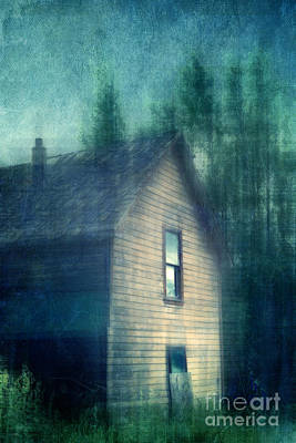 Haunted By The Past Poster by Priska Wettstein