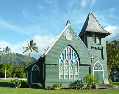Hawaiian Church Poster by Dee  Savage