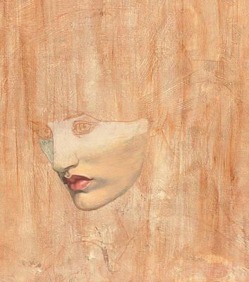 Head Of Proserpine Poster by Dante Gabriel Charles Rossetti