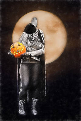 Headless One Poster by John Haldane