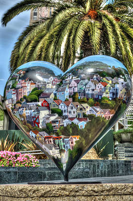 Heart Of San Francisco Poster by Anthony Citro