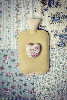 Hearty Hot-water Bottle Poster by Joana Kruse