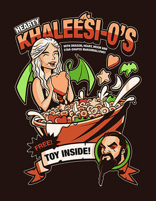 Hearty Khaleesio's Poster by Michael Myers