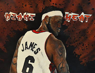 Heat Poster by Michelle Wiltz