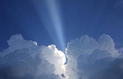 Heaven's Spotlight Poster by Rachel Hames