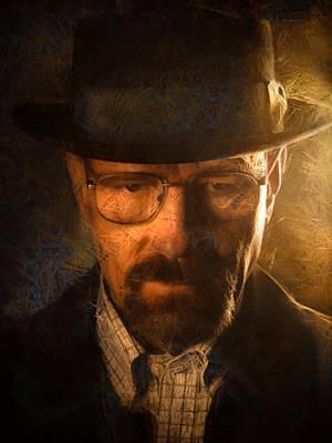 Heisenberg Poster by Ian Hufton