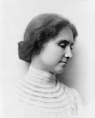 Helen Keller  Poster by Celestial Images