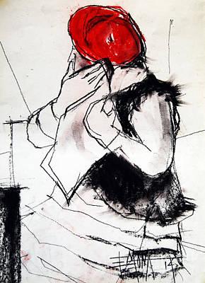 Helene #1 - Figure Series Poster by Mona Edulesco