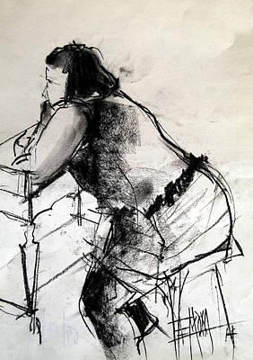 Helene #2 - Figure Series Poster by Mona Edulesco