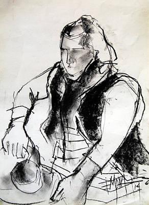 Helene #3 - Figure Series Poster by Mona Edulesco