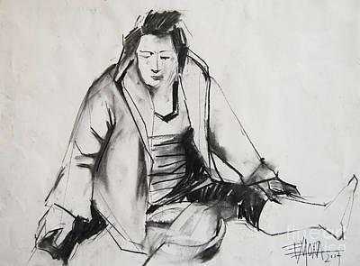 Helene #6 - Figure Series Poster by Mona Edulesco