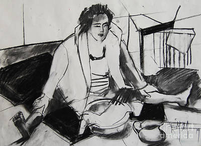 Helene #7 - Figure Series Poster by Mona Edulesco