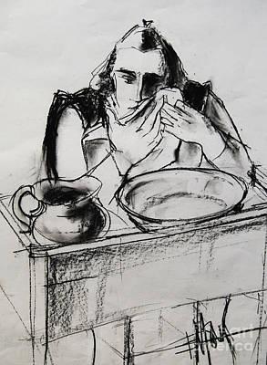 Helene #8 - Figure Series Poster by Mona Edulesco
