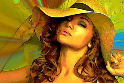Hello Sunshine Poster by  Fli Art