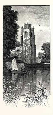 Hemingford Grey, Uk, Britain, British, Europe Poster by English School