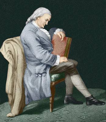 Henry Cavendish Poster by Sheila Terry