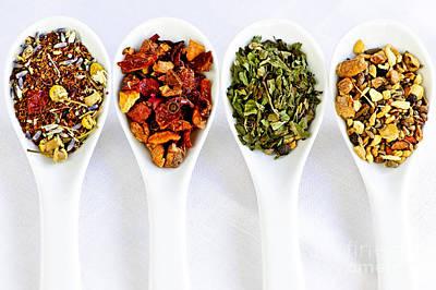 Herbal Teas Poster by Elena Elisseeva