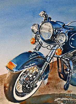 Heritage Softail Poster by Andrea Timm