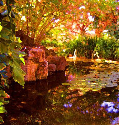 Hidden Pond Poster by Amy Vangsgard