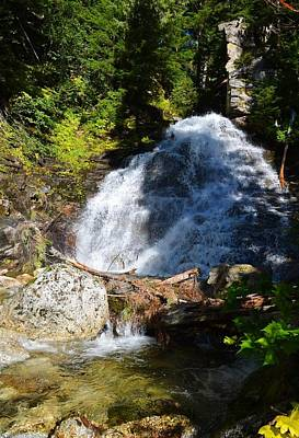 Hidden Waterfall 4 Poster by Randy Giesbrecht