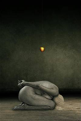 Hide My Self Poster by Johan Lilja