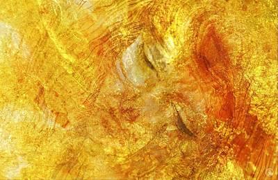 Hiding In Yellow Poster by Gun Legler