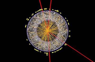 Higgs Boson Event, Atlas Detector Poster by Science Photo Library