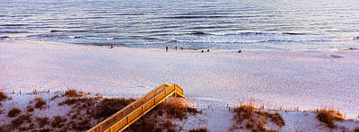 High Angle View Of A Beach, Gulf Poster by Panoramic Images