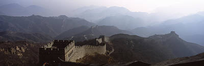 High Angle View Of A Fortified Wall Poster by Panoramic Images