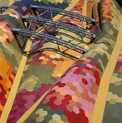 High Angle View Of A Roof Of Santa Poster by Panoramic Images