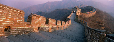 High Angle View Of The Great Wall Of Poster by Panoramic Images